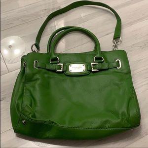 MK large green purse